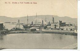 Docks A Port Tewlik De Suez (002541) - Sues