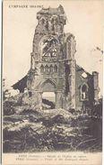Campagne 1914-1917 - FRISE (Somme) - Façade De L'Eglise En Ruines - Guerre 1914-18