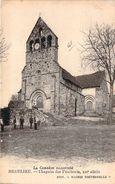CPA Beaulieu Chapelle Des Pénitents (animée) P1399 - France