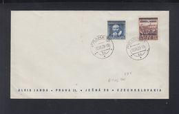 Böhmen Und Mähren FDC 1939 - Occupazione 1938 – 45
