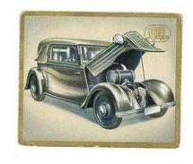 CHROMO IMAGE AUTOMOBILES DAS AUTO VON HEUTE N°197 ROHR JUNIOR - Trade Cards
