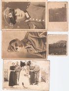 Schlesische Soldaten Aus Alt Schalkowitz ( Kriess Oppeln ) 8 Fotos - Krieg, Militär