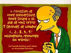 The Simpsons Illustrateur Matt Grogning, A L'occasion De Votre Annniversaire - Bandes Dessinées
