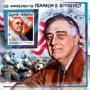 GUINEA BISSAU 2017 - WW2: F.D. Roosevelt S/S. Official Issue - 2. Weltkrieg