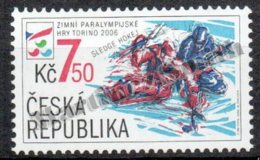 Czech Republic - Tcheque 2006 Yvert 421, Paralympic Winter Games At Turin (Italy)  - MNH - Czech Republic