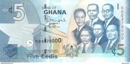 Ghana - Pick 38 - 5 Cedis 2015 - Unc - Ghana