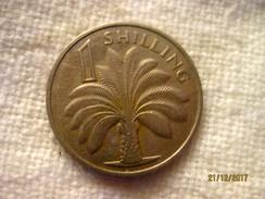 Gambie: 1 Shilling 1966 - Gambia