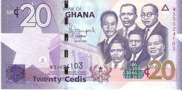 Ghana - Pick 40 - 20 Cedis 2015 - Unc - Ghana