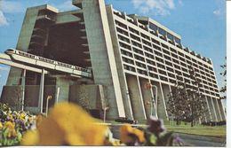 Contemporary Resort Towers With Monorail Train 1978 (002547) - Disneyworld