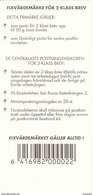 FINLAND, BOOKLET, 1993, Facit H 19, Mi 1199, Iris, Self-adhesives - Booklets