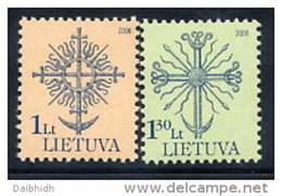 LITHUANIA 2006  Definitive 1, Lt. 1.30 Lt. MNH / **.  Michel 907-08 - Lithuania
