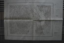 Carte 1/20 000 Editée 1951 GIVORS 8 ( Luzinay/Valencin/Oytier St-Oblas/St-Just Chaleyssin ...) - -bon état - Topographical Maps
