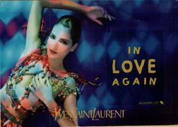 143193 CARTOLINA PUBBLICITARIA YVES SAINT LAURENT - Publicité