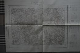 Carte 1/20 000 Editée 1951 GIVORS 7 (Chaponnay/ Marennes/Villette/Chuzelles/Serpaize...) -bon état - Topographical Maps