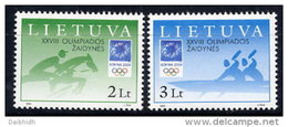 LITHUANIA 2004 Olympic Games  Set Of 2  MNH / **.  Michel 855-56 - Lithuania