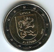 Lettonie Latvia 2 Euro 2017 Region Kurzeme UNC - Lettonie
