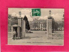 22 Côtes D'Armor, Dinan, Quartier Beaumanoir, 13 ème Hussards, Animée, Entrée, 1910 - Dinan