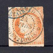 !!! PRIX FIXE : COLO GENERALES, N°13 OBLITERATION CACHET A DATE DE PORT LOUIS GUADELOUPE DE 1878 - Ceres