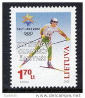 LITHUANIA 2002 Winter Olympics MNH / **.  Michel 780 - Lithuania
