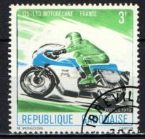 GABON - 1976 - MOTORCYCLES: MOTOBECANE FRANCE - USATO - Gabon (1960-...)
