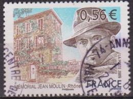Unification De La Résistance - FRANCE - Jean Moulin, Résistant - N° 4371 - 2009 - Usados