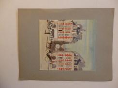 Reproduction Du Peinture De Yves Brayer. 23, 5 Cm/31 Cm. Le Dessin 16,5cm/18cm. - Other