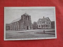 St Paul's Episcopal Church   Willimantic     Connecticut >  - Ref 2763 - Unclassified