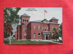High School    Willimantic     Connecticut >  - Ref 2763 - Unclassified