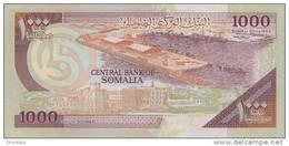 SOMALIA P. 37a 1000 S 1990 UNC - Somalia