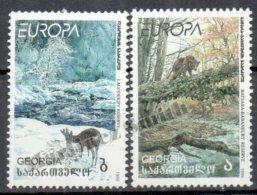 Georgie - Georgia 1999 Yvert 223-24, Europe, Reserves And Natural Parks - MNH - Georgia