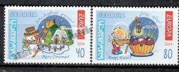 Georgie - Georgia 2004 Yvert 357-58, Europe. The Holidays And Vacations - MNH - Georgia
