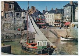 143/571 HONFLEUR - Edts Greff - Vieilles Maisons Normandes Prises Du Port. - Honfleur