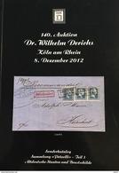 140. Derichs 2012 - Altdeutsche Staaten Sammlung Petuelli Teil 3 - Auktionskataloge