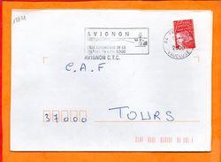 VAUCLUSE, Avignon, Flamme SCOTEM N° 17871, Ville De La Culture En 2000 - Marcofilie (Brieven)