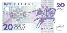 Kyrgyzstan - Pick 6 - 20 Som 1993 - Unc - Kirghizistan
