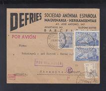 Carta Por Avion 1941 Estafeta Barcelona - 1931-Heute: 2. Rep. - ... Juan Carlos I