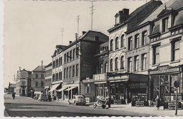 CPSM Ath. Les Hôtels Place De La Gare (Brasserie Du Télégraphe). Vue Animée.  Photo Thill - Ath