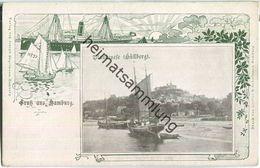 Hamburg-Blankenese - Süllberg - Verlag Joseph Engelmann Hamburg - Blankenese