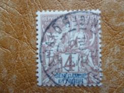 Sénégambie Et Niger, Timbre N° 3 Oblitéré - Used Stamps