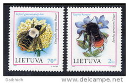 LITHUANIA  1999 Endangered Species Set Of 2 MNH / **.  Michel  698-99 - Lithuania