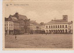 Cpa 1934 Ath. Vue Animée De La Grand'Place Et Garde De Police. (Ern.Thill, Brux) Nels - Ath