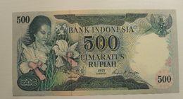 1977 - Indonésie - Indonesia - 500 RUPIAH - S K N 016281 - Indonesia