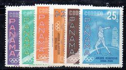 Y1951 - PANAMA 1960 , Serie N. 337/338 + Aerea   ***  Olimpiadi Roma - Verano 1960: Roma