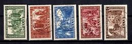 Sarre YT N° 278/282 Oblitérés. B/TB. A Saisir! - 1947-56 Protectorate