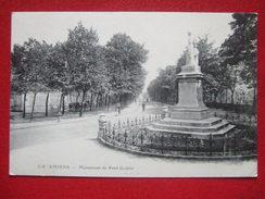80 - AMIENS - MONUMENT DE RENE GOBLET - - Amiens