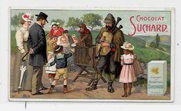Chromo Orgue De Barbarie Organ Musique Publicité Publicitaire 10,5 X 6 Chocolat Suchard - Suchard