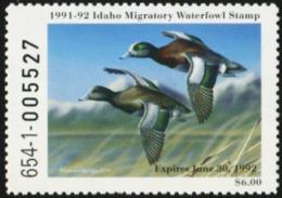 IDAHO 1991 USA State Ducks Birds Hunting Wildlife Fauna MNH - United States