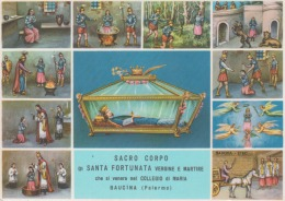 Baucina Palermo - Sacro Corpo Di Santa Fortunata Vergine E Martire Unused - Saints