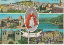 Israel - Pope Paul VI - Holy Places Used - Papes