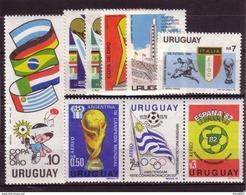 Soccer World Cup 1982 - URUGUAY - LOT MNH** - Coupe Du Monde